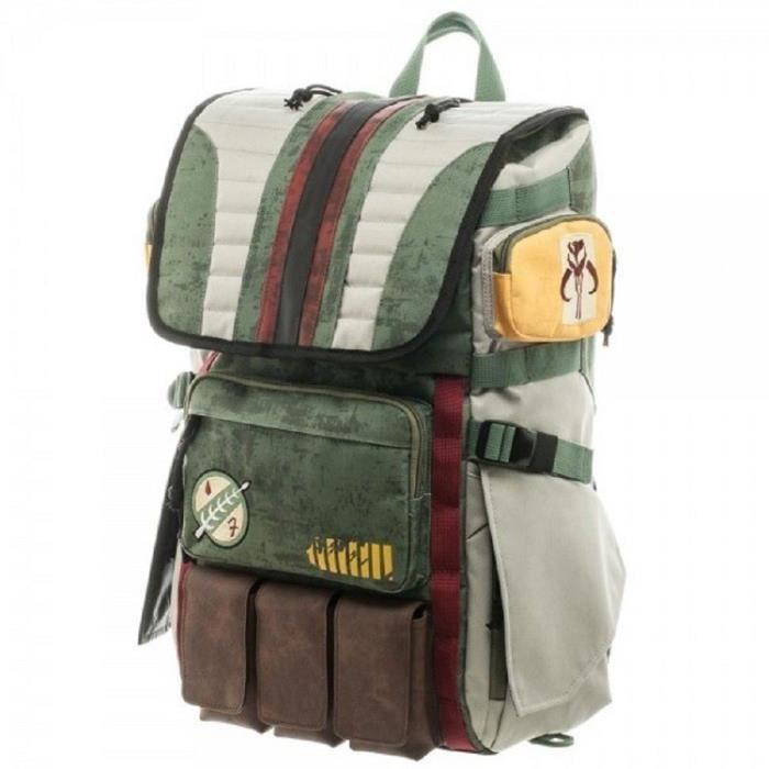 LITTÉRATURE FRANCAISE Star Wars Boba Fett Laptop Backpack good quality
