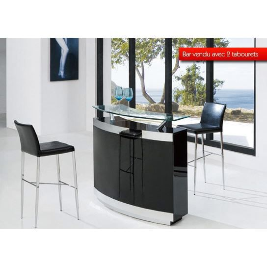 bar de salon avec 2 tabourets angels le bar q achat vente meuble bar bar de salon avec 2. Black Bedroom Furniture Sets. Home Design Ideas