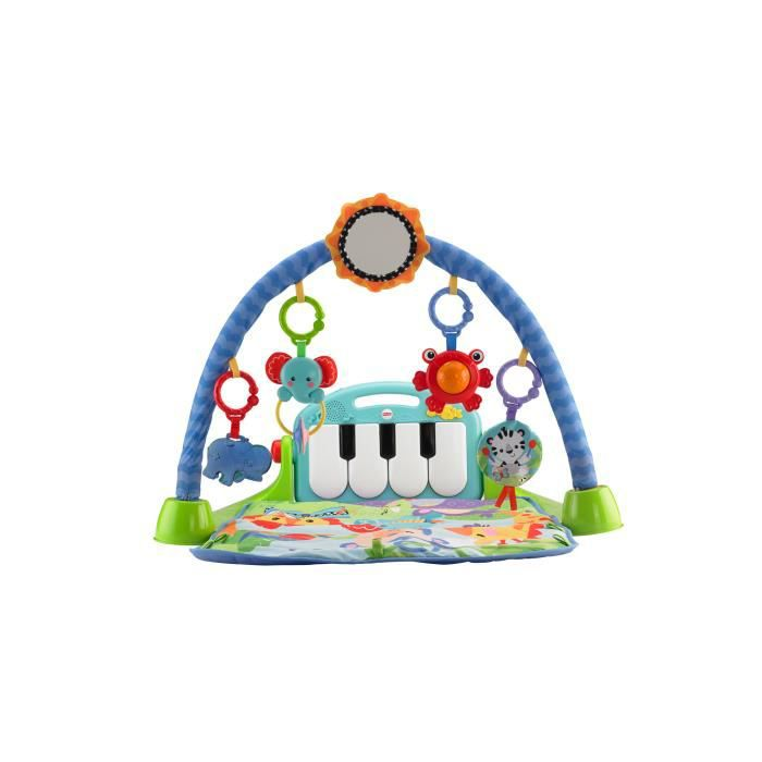 fisher price tapis d 39 activit s avec arche piano achat. Black Bedroom Furniture Sets. Home Design Ideas