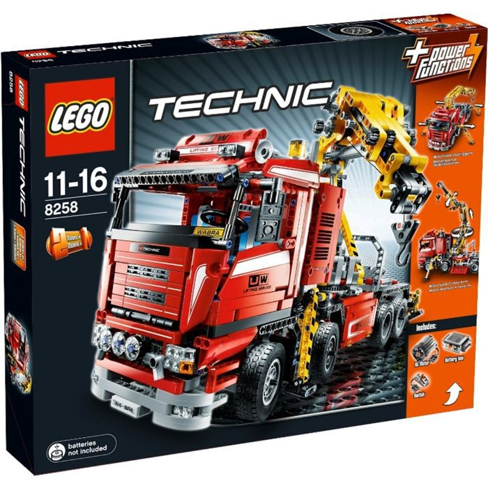 le camion grue lego technic achat vente assemblage construction cdiscount. Black Bedroom Furniture Sets. Home Design Ideas