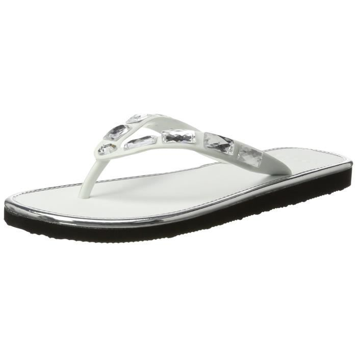 Denise Thong, Mules Femme, Blanc (White), 36 EUEsprit