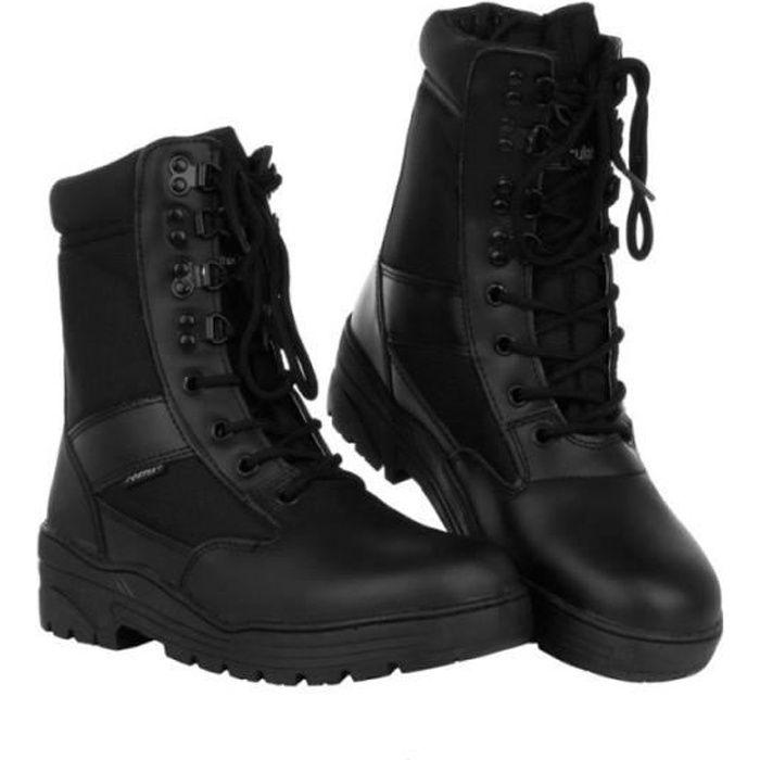 Rangers Chaussures de sniper noir Fostex Garments
