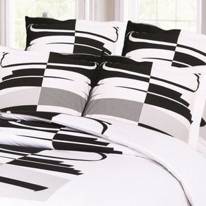drap de lit achat vente pas cher. Black Bedroom Furniture Sets. Home Design Ideas