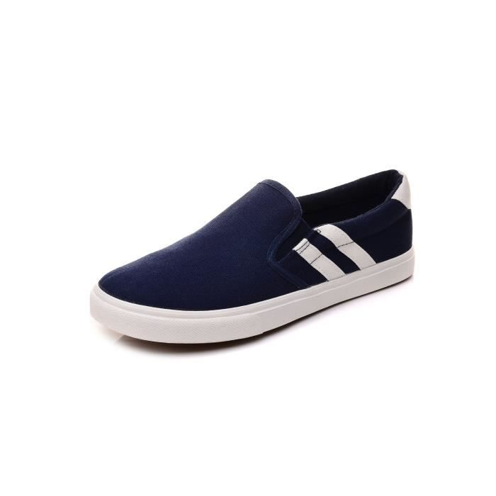 chaussures de toile faible chaussures Slip-on t...