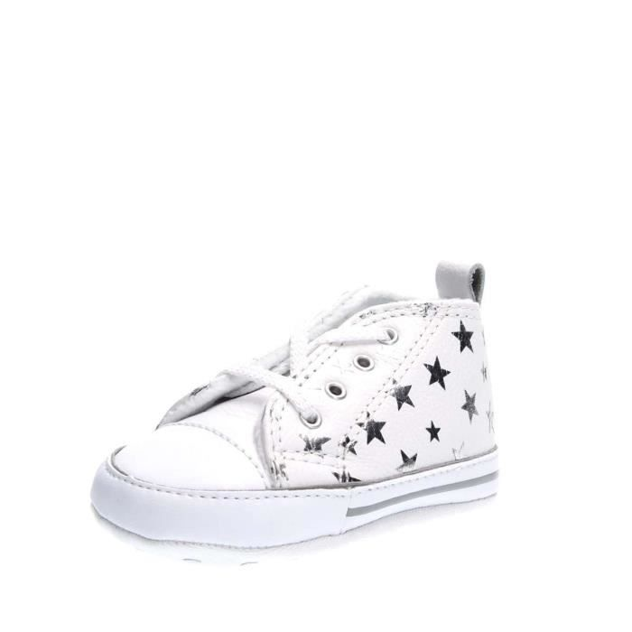 CONVERSE SNEAKERS fille WHITE SILVER, 18