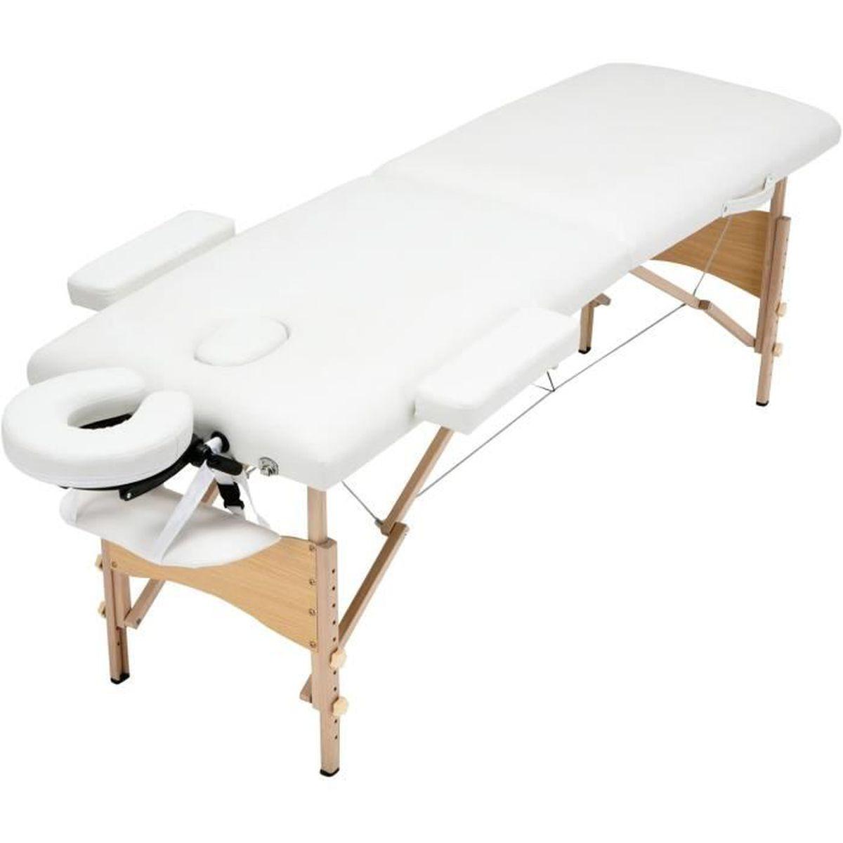 UBonheur Table de massage pliante Professionnelle Cosmétique 5