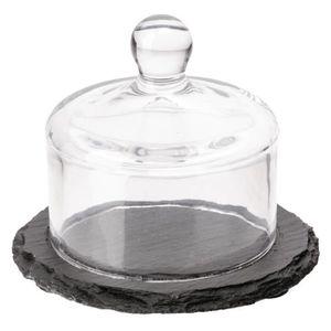 PIÈCE APPAREIL FROID  APS Slate Beurrier en verre Cloche