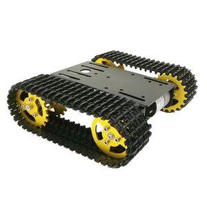 VOITURE ELECTRIQUE ENFANT T101 Smart Robot Chassis Tank Plate-forme de voitu