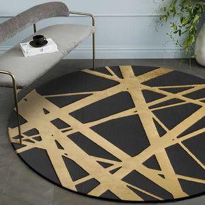 Color : Gris, Taille : 100cm/×160cm lavable en machine Tapis rectangulaire salon tapis court velours tapis g/éom/étrique doux chambre tapis