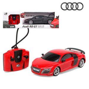 VOITURE ELECTRIQUE ENFANT Voiture télécommandée AUDI R8 GT rouge 42cm   offi