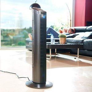 VENTILATEUR Ventilateur colonne avec Télécommande, 45W, oscill