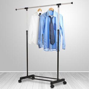 PENDERIE MOBILE MISS Portant à vêtements réglable Portant à roulet