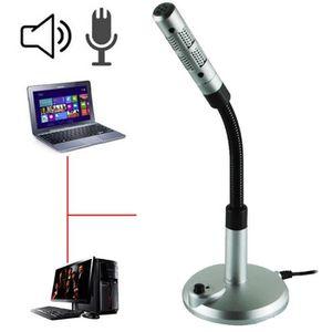 MICROPHONE MINI AUDIO Microphone USB Microphone à enregistrem