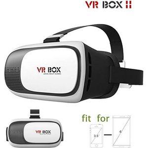 LUNETTES 3D 3D VR BOX 2.0 Version Réalité Virtuelle Lunettes c