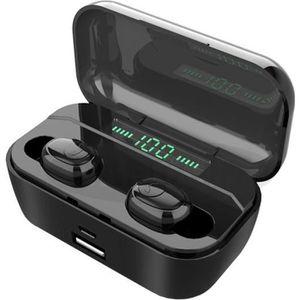CASQUE - ÉCOUTEURS Écouteurs Bluetooth sans Fil 3500mAh TWS Oreillett