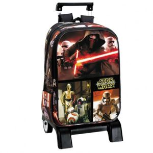 CARTABLE STAR WARS - Grand cartable trolley 43 cm Deluxe Le