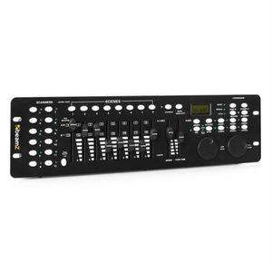 DMX ET MODULATEUR Beamz DMX-240 Contrôleur lumière professionnel - C