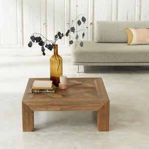 TABLE BASSE Table basse en bois de teck recyclé 100
