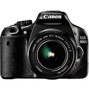 APPAREIL PHOTO RÉFLEX Canon EOS 600D 18-55mm IS  Appareil photo reflex n