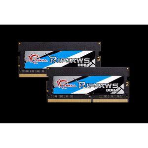 MÉMOIRE RAM G.Skill Ripjaws, 16 Go, 2 x 8 Go, DDR4, 2666 MHz