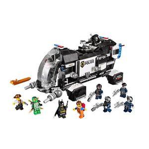 LEGO personnage accessoires casque Police Noir Blanc 645 #