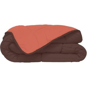 COUETTE Couette Microfibre 400g/m² CALGARY Chocolat & Cora