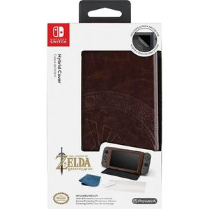 HOUSSE DE TRANSPORT Coque Hybrid Similicuir Zelda : Breath of the Wild