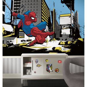 Heros Marvel 320X182 CM Papier Peint Panoramique Surestrip Pose sans Colle