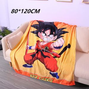COUVERTURE - PLAID 80*120 DRAGON BALL Son Goku Couverture de flanelle