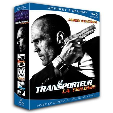 blu ray le transporteur la trilogie en blu ray film pas cher yuen corey megaton olivier. Black Bedroom Furniture Sets. Home Design Ideas