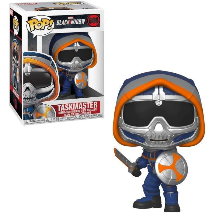 Figurines Funko Pop! Marvel: Black Widow – Taskmaster w/ Shield