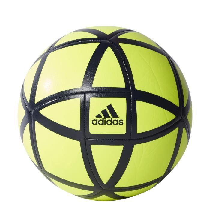 Ballon adidas Glider - jaune fluo-bleu marine - Taille 5