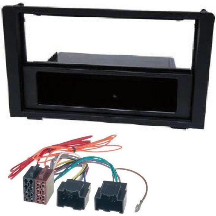 KITFAC2284 - Kit Adaptateur Autoradio 1DIN Saab 9-3 ap06 + ISO - ADNAuto