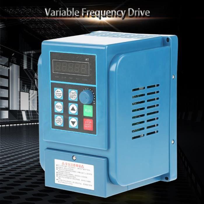 1pc 380Vac 6A Entra?Nement à fréquence variateur de vitesse Vfd, pour moteur triphasé de 2,2 Kw Gxu