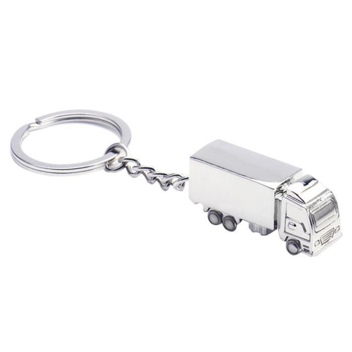 5 pièces porte-clés créatif en forme de camion alliage élégant sac à main décoration pendentif pour voiture KEY RING - KEY CASE