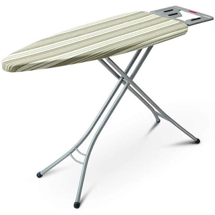 RTSFKFS Table à Repasser Petite Planche à Repasser, avec Hauteur r&eacuteglable, Support de Vapeur Solide, Acier, 90