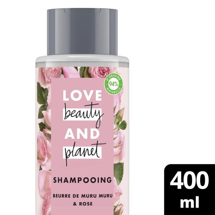 LOVE BEAUTY AND PLANET Shampooing Femme Éclosion de Couleur - 400 ml