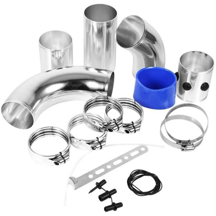 Kit universel d'admission d'induction à haut débit de tubes de montage de filtre à air de voiture universel en alliage HY1184 HB069