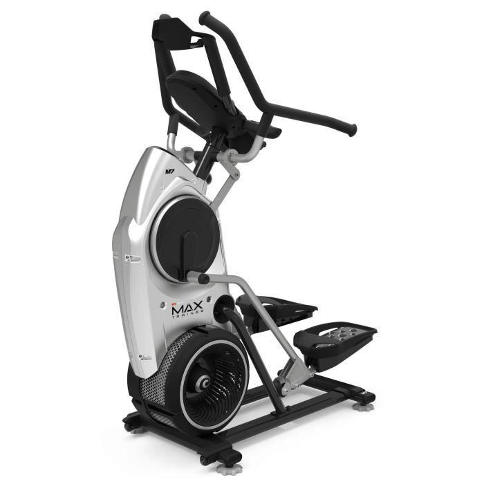Bowflex Max Trainer M7, 136 kg, Noir, Argent, Tablette, Ceinture pectorale, Capteurs au niveau des poignées, 4 utilisateur(s), 774