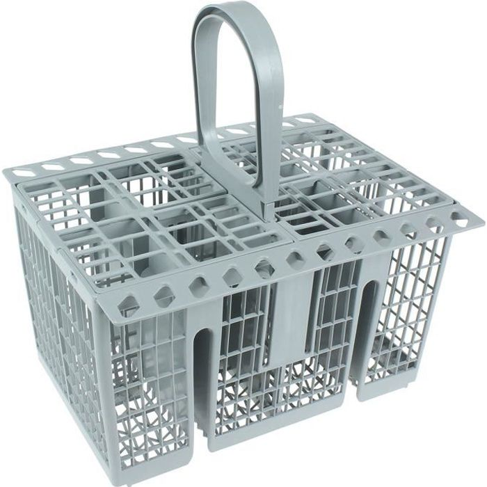 Hotpoint Indesit Véritable panier à couverts pour lave-vaisselle, gris: Gros électroménager