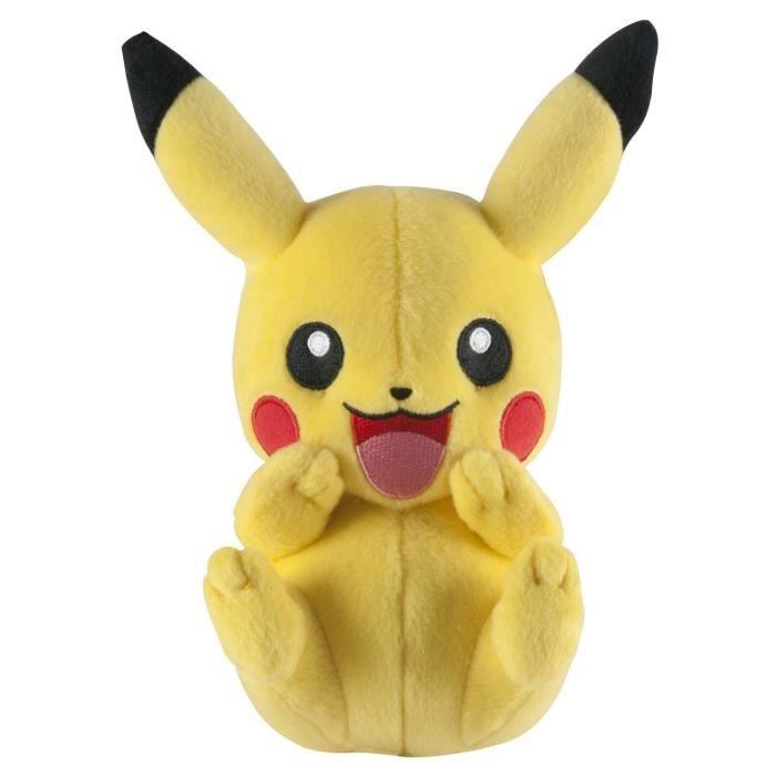 POKEMON Peluche Pikachu Plush Rigole 20 Cm