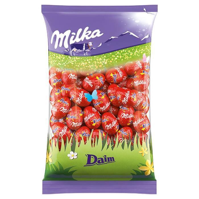 MILKA Chocolat Petits Oeufs Daim - 500 g