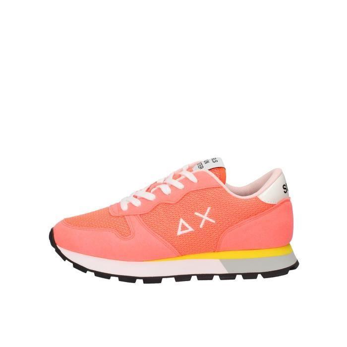 Sun68 Z30204 chaussures de tennis Femme Corallo