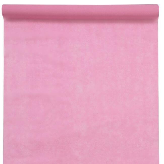 R/5481 - 1 Grand Tapis de cérémonie mariage rose 1m x 15m