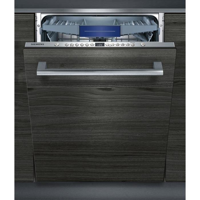 siemens - lave-vaisselle tout intégrable 60 cm xxl - sx636x03ne