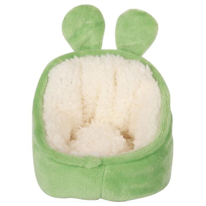 1PC lit de couchage pour animaux de compagnie en peluche douce fournitures pour de confortables nid de hamster de HOT DOG MACHINE