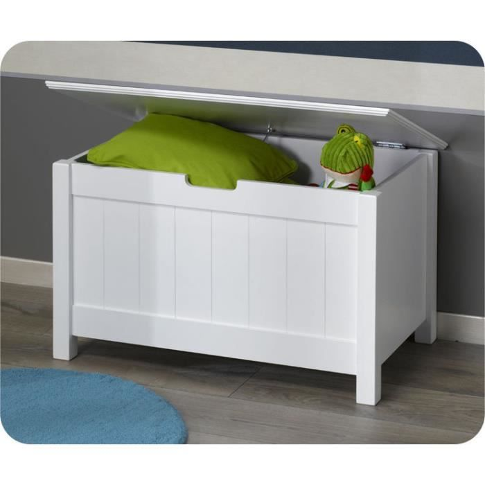 coffre de rangement swam blanc achat vente coffre. Black Bedroom Furniture Sets. Home Design Ideas