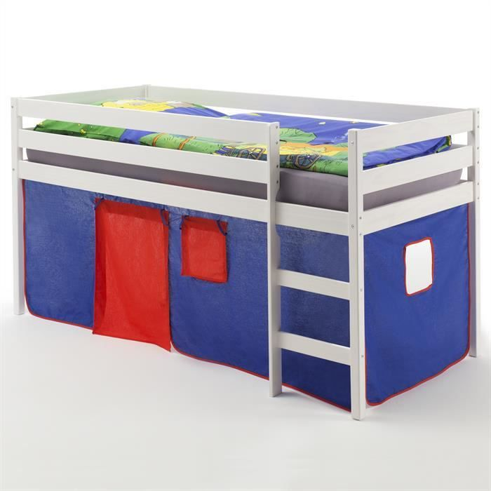 lit enfant sureleve achat vente lit enfant sureleve pas cher cdiscount. Black Bedroom Furniture Sets. Home Design Ideas
