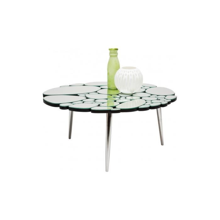 table basse water drops 89x72 cm kare design achat vente table basse table basse water drops. Black Bedroom Furniture Sets. Home Design Ideas
