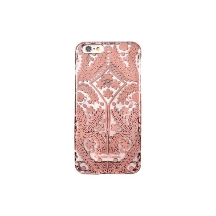 coque iphone 6 6s christian lacroix paseo rose gold. Black Bedroom Furniture Sets. Home Design Ideas